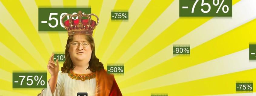 Various Sales Percentages for Steams Summer Sales